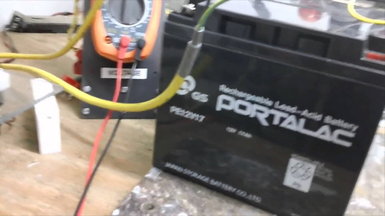 Pulse Motor Charging A Sulfated Battery Youtube Requirement For The Proposed Desulfator With Charger Circuit