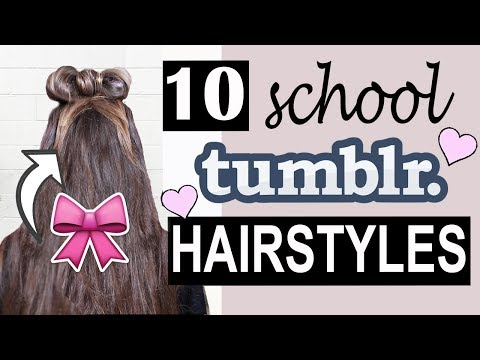 Tumblr School Hairstyles