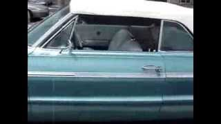 1964 CHEVY IMPALA SS CONVERTIBLE --  BANNER YEAR