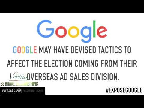 Google Ad Manager Caught on Camera Admitting Credits to Democrats, Censor Republicans