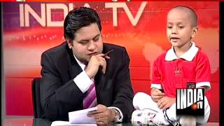 Haryana's child prodigy Kautilya appears on India TV,replies to tough GK questions with ease-1