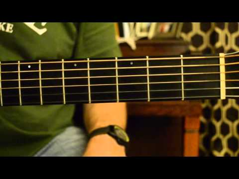 Charlie Daniels Uneasy Rider Chords and Outro Tutorial