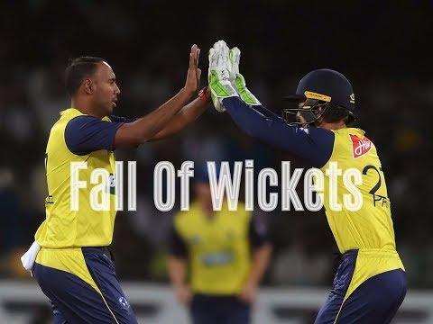 Fall Of Wickets  Pakistan vs World XI 2nd T20 2017  Full HD Highlights