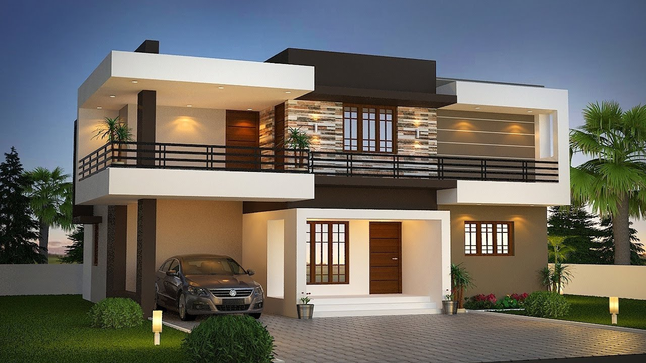 Small Modern Double Floor House 1000 Sft For 10 Lakh