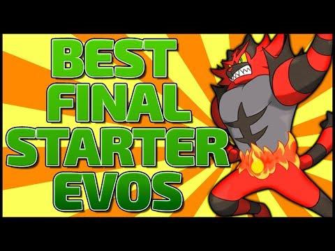 Pokémon: Top 10 Final Starter Evolutions