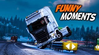Euro Truck Simulator 2 Multiplayer Funny Moments & Crash Compilation #108 (ETS2MP)