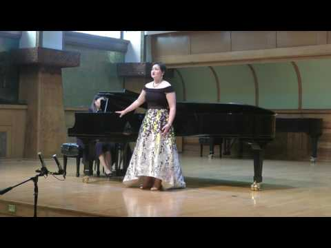 Ashley Rose Larkin  April 23 2017 Graduate Recital