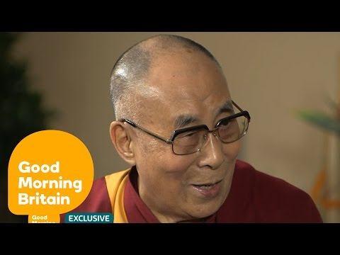 Dalai Lama World Exclusive With Piers Morgan On ISIS, Trump And Twitter | Good Morning Britain