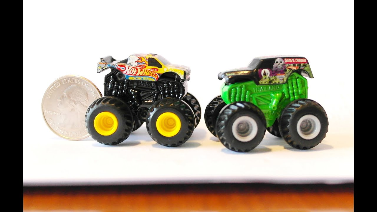 new 2013 hot wheels monster jam mighty minis little trucks big attitude youtube. Black Bedroom Furniture Sets. Home Design Ideas