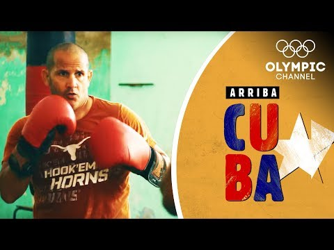 Cuban Boxers found a creative way of Weight Training | Arriba Cuba