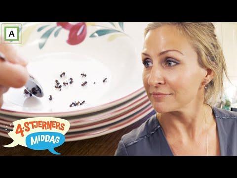4-stjerners Middag   Cathrine Fossum serverer maur til forretten   TVNorge