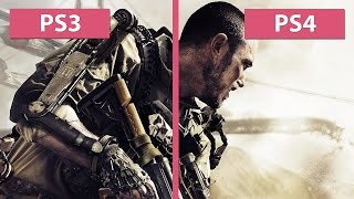 Call of Duty: Advanced Warfare PS3 vs. PS4 Graphics Comparison [60fps][Full HD]