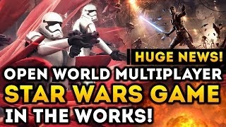 HUGE NEWS! Open World Multiplayer Star Wars Game in The Works at EA Vancouver! thumbnail