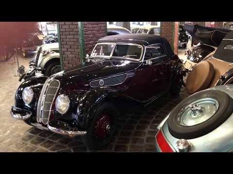 Самая большая коллекция авто! Машина Аль Капоне, Первая BMW, Alfa-Romeo за 3 млн евро!