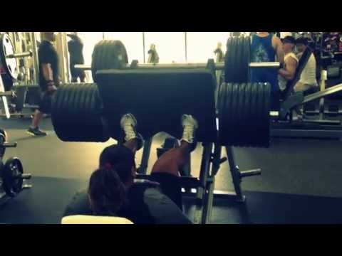 Women Power Lifting Leg Press 1,125 lbs KACE samoa