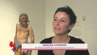 Das Südtiroler Archäologiemuseum und Ötzi - the iceman