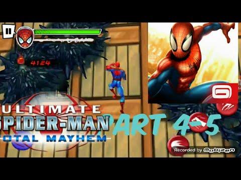 Spider-Man Total Mayhem Andriod/IOS GAMEPLAY PART 4-5 |Adobo Kid