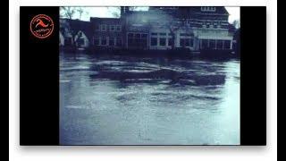 Historisch: Hoogwater op 19 maart 1981 bij Ommen, Vilsteren en Dalfsen