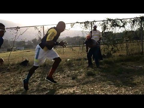 Yohan Blake hill sprints 2014