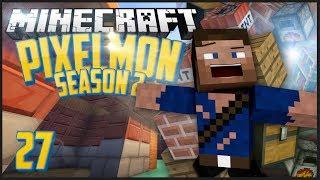 Pixelmon Season 2: Episode 27 - House Construction!