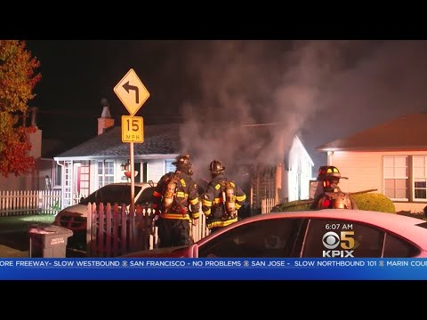 Family Escapes House Fire In South San Francisco