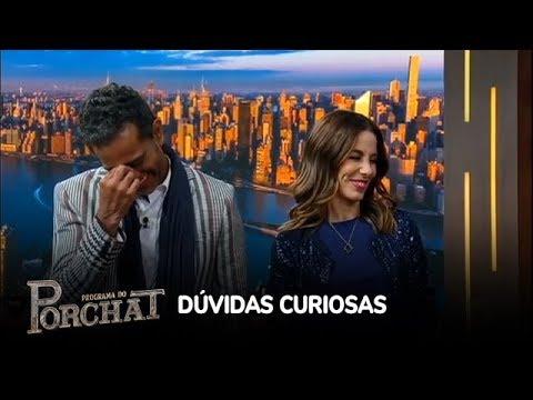 Jair Oliveira e Tania Khalill se divertem em brincadeira