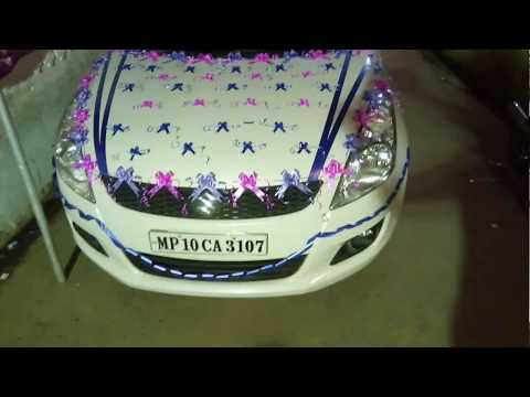 Swift wedding car decoration|marriage car| all in one | by mohit thumbnail