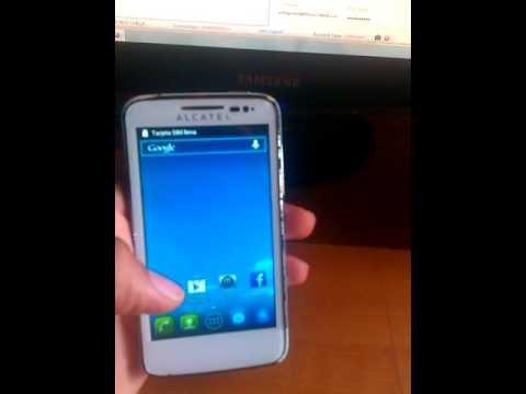 Como Liberar Alcatel One Touch OT-5020A