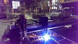 видео Вытяжной стол для плазменной резки