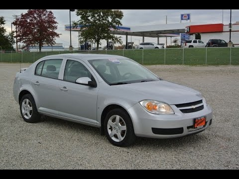 2007 Chevrolet Cobalt Lt Sedan For Sale Dayton Troy Piqua Sidney Ohio 27175at Youtube