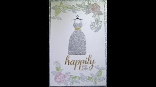 Most Beautiful Wedding Card.... I ever made