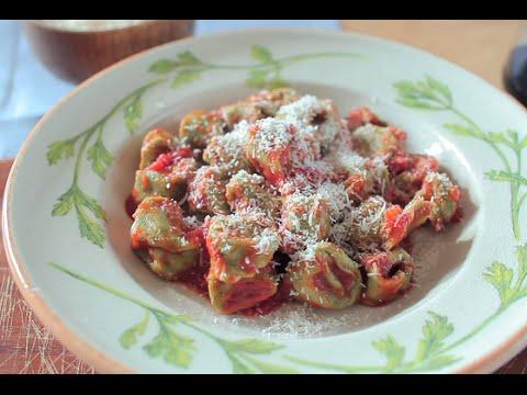 Spinach And Ricotta Tortellini | Video Recipe