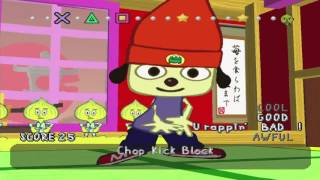 PaRappa The Rapper - Full Playthrough