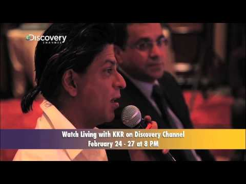 Shahrukh Khan At Living With KKR Press Conference Part 2