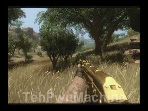 Hd Far Cry 2 Golden Ak 47 1 Easter Egg Unjammable Weapon Youtube