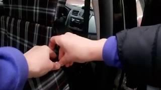 Автогамак с защитой подголовников