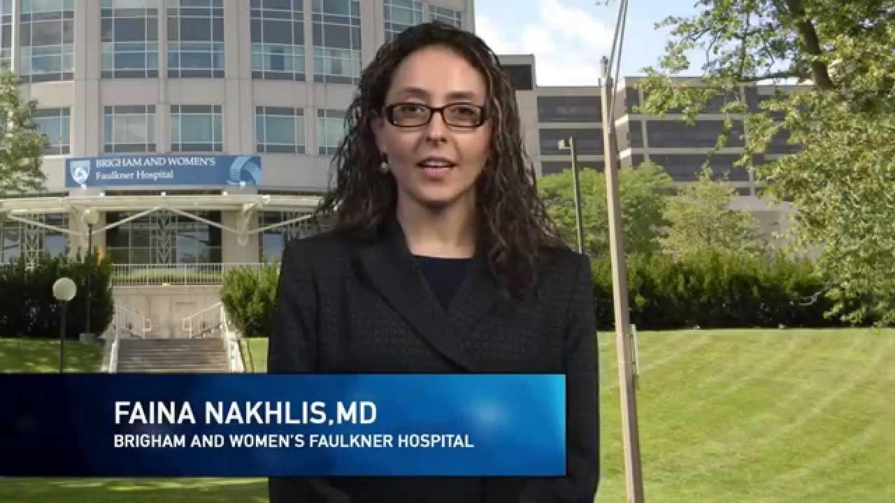 Dr  Faina Nakhlis, BWFH Breast Surgeon