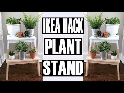 DIY PLANT STAND ⭐ DIY IKEA HACKS