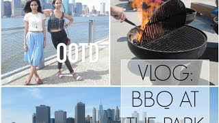 Vlog: BBQ at the Park + OOTD Thumbnail