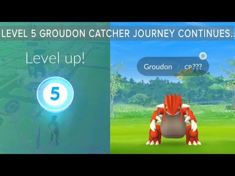 Download Youtube: Level 5 Trainer Catches Legendary Groudon then Tyranitar, Dragonite and Rare gen 3 in Pokemon Go