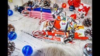 видео Сладкие подарки на новый год своими руками