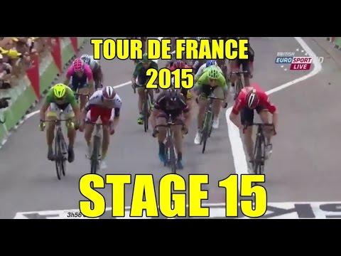 Tour de France 2015 - Stage 15 - last 15KM