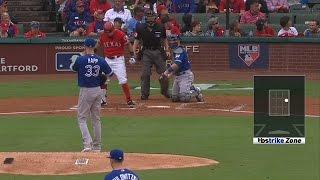 Плей-офф MLB. Полуфинал AL: Техас Рейнджерс - Торонто Блю Джейз. Матч 2 (7.10.2016)