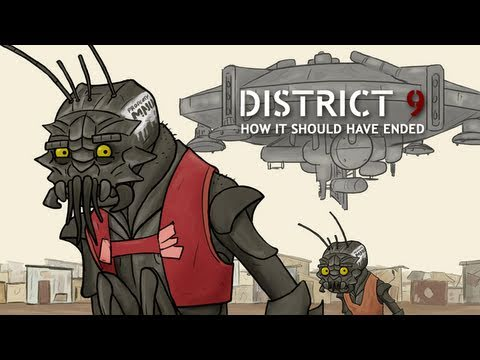 How District 9 Should Have Ended