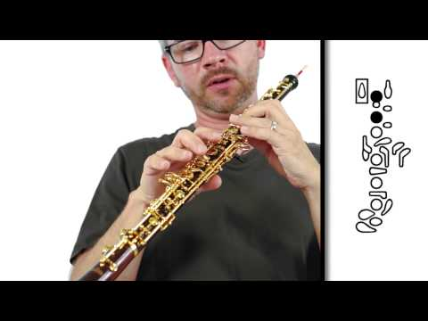 Oboe - Notes C,B,A, and G