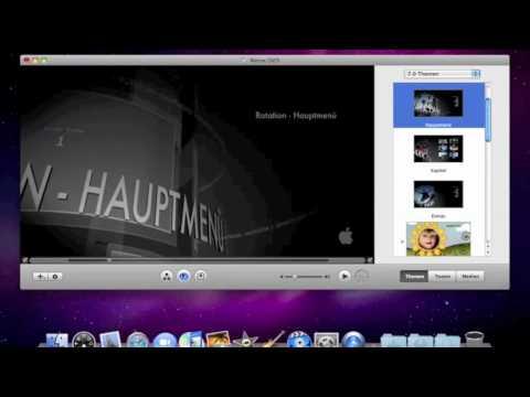IDVD 09 - Wie Erstellt Man Eine DVD ?