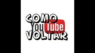 Como Voltar Para o Antigo YouTube!!! E como Atualizar o YouTube