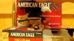 7.62x51 Federal American Eagle M1A OTM Match 7.62 NATO Ammo - 308 Win A76251M1A at SGAmmo.com
