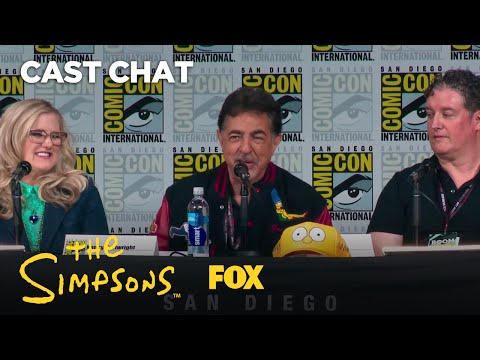 THE SIMPSONS Panel At ComicCon 2017  Season 28  THE SIMPSONS