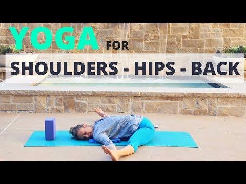 Yoga for Shoulders, Hips and Back - Relaxing Yoga -  Liel Cheri Yoga